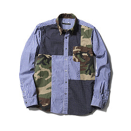 SOPHNET. - MULTI MIX B.D SHIRT