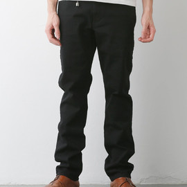 FUNDAMENTAL AGREEMENT LUXURY, FDMTL - TRACE COLOR PANTS (BLACK)