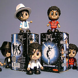 Hot Toys - Michael Jackson Thriller Cosbaby Figures