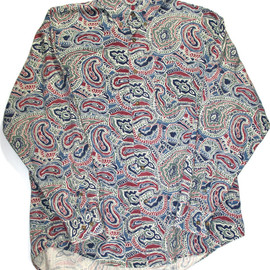 VINTAGE - Vintage 90s Paisley Button Down Mens Size Large