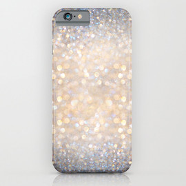Society6 - Glimmer of Light (Ombré Glitter Abstract) iPhone & iPod Case
