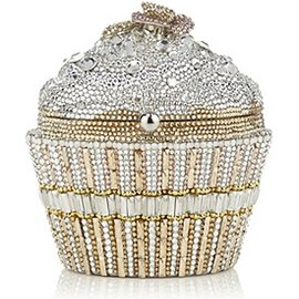 JUDITH LEIBER - Sequin Cupcake Clutch Bag