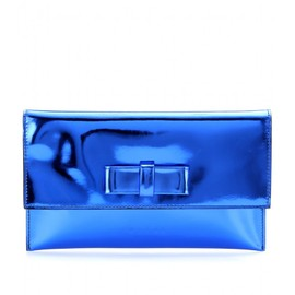 MARNI EDITION - MIRRORED-LEATHER CLUTCH