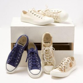 CONVERSE - BEAUTY&YOUTH × CONVERSE ALL STAR OX WHITE & NAVY & CAMO