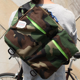 FREDRIK PACKERS - *BIKE PACK(M)* CAMOUFLAGE CUSTOM /CAMO X NEON YELLOW