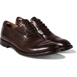 Officine Creative - Anatomia Leather Oxford Shoes