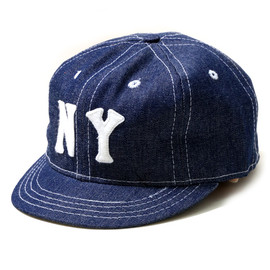 Ebbets Field Flannels - DENIM BB CAP