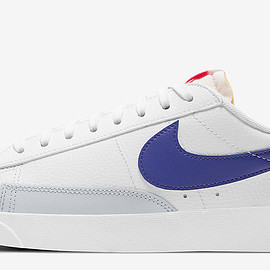 NIKE - Blazer Low - White/Hyper Pink/Concord/Pure Platinum
