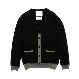 White Mountaineering - CASHMERE KNIT CARDIGAN