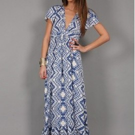 Daughters of the Revolution - Darling Dress in Tile