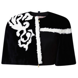 THOM BROWNE - FW2014 Cropped Cape Jacket