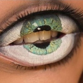 Very Impressing And Realistic 3D Eye Illusion Tattoo