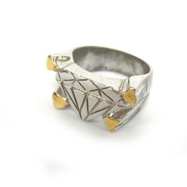 UNDERCOVER - UNDERCOVER RING SILVER