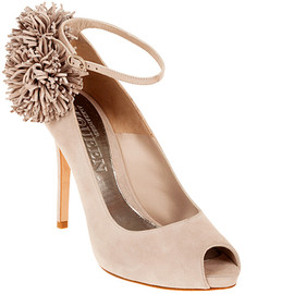 Alexander McQueen - Pom Pom high-heel shoes