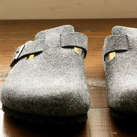 BIRKENSTOCK - BOSTON[BZ Gray]