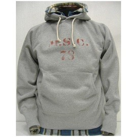 The REAL McCOY'S - MILITARY HOODED SWEAT SHIRT