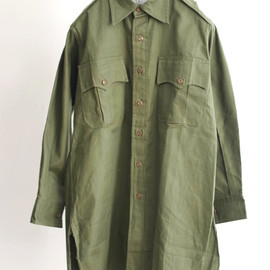 LILY1ST VINTAGE - 1960's deadstock british royal army shirt