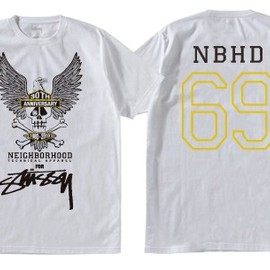 Stussy - stussy x neighborhood 30th anniversary tee