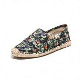 Soludos - Tropical Print - Black Espadrilles for Men from Soludos
