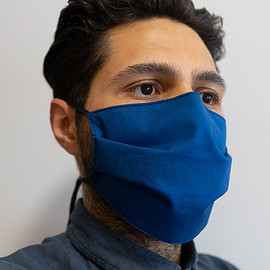 Outlier - Mask 002 (Supermarine Shield) - Cobalt Blue