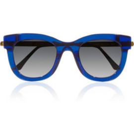 THIERRY LASRY - Sexxxy D-frame acetate and metal sunglasses