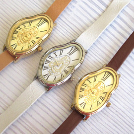 Salvador Dali Watch - Women's Watches - Leather Watch