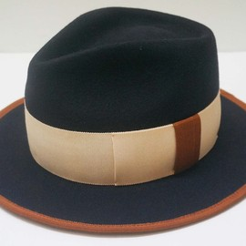 WORKING CLASS HEROES - WOOL HAT (NAVY/BROWN/BEIGE)