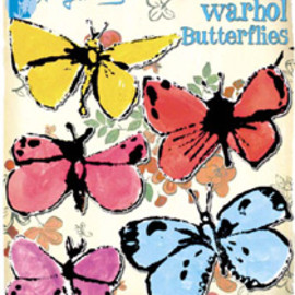Andy Warhol - Butterfly Magnets