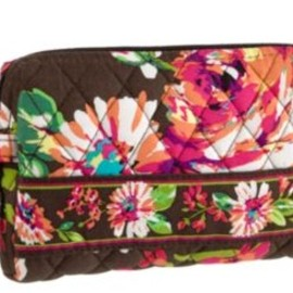 Vera Bradley - Small Cosmetic in English Rose
