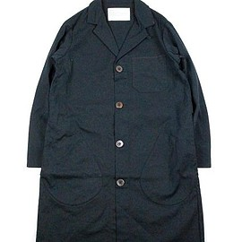 COMMONO reproducts - doctor coat (duck) -navy-