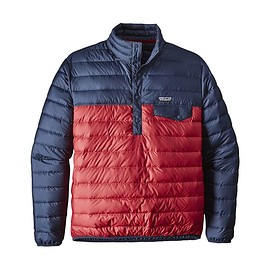 patagonia - M's Down Snap-T® Pullover, Classic Red (CSRD)