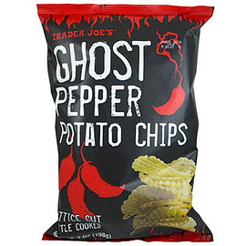 Trader Joe's - Ghost Chili Lattice Cut Potato Chips