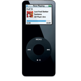 Apple - iPod nano 1st. Generation 4GB Black