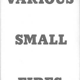 Ed Ruscha - Various Small Fires