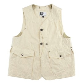 Engineered Garments - Upland Vest-Drill Twill