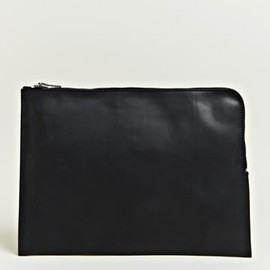 Rick Owens - Zipped Mac Case