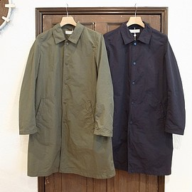 universal products - washed nylon coat