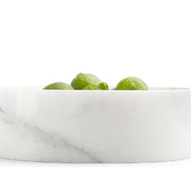 When Objects work - Michael Verheyden carrara marble bowl