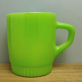 Fire King - Ribbed Bottom Mug
