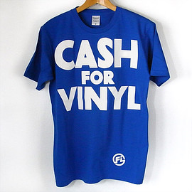 FIRST IMPRESSIONS - CASH FOR VINYL s/s T-Shirt (Blue)