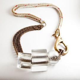 Brianna Fano - Lucite Jewelry Collection Necklace