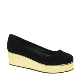 ASOS - Image 1 of ASOS VOLLEY Flatform Ballet Shoes