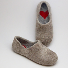 WoolenClogs - Felted Warmest Love Clogs
