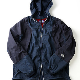 THE NORTH FACE PURPLE LABEL - Indigo Mountain Wind Parka