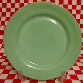 Jadeite Magic Gallery - Fire King Jadeite Restaurantware G306 Dinner Plate #24
