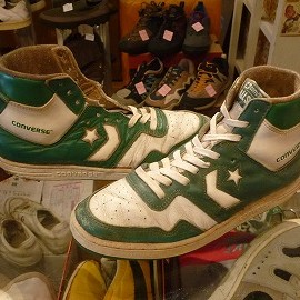 "converse - 「<used>80's converse STARTECH COLORS white/green""made in KOREA"" size:US9/h(28cm) 10800yen」完売"