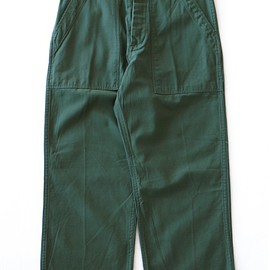 TOGA ODDS&ENDS - Rubber Print Pants (green)