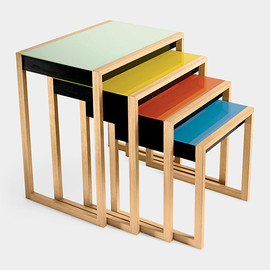 Josef Albers - Nesting Tables