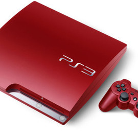 SONY - Playstation 3 scarlet red