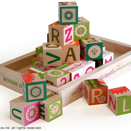 House Industries - Alexander Girard Block Set